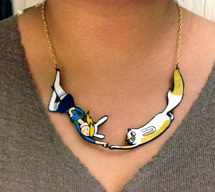 Cake and Fionna Necklace