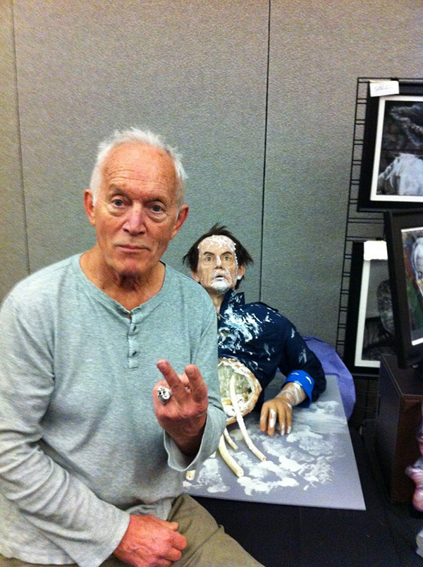 Silicone Bishop from Aliens Lance Henriksen