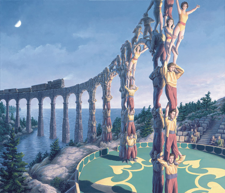 Surreal Magic Realism Paintings by Rob Gonsalves