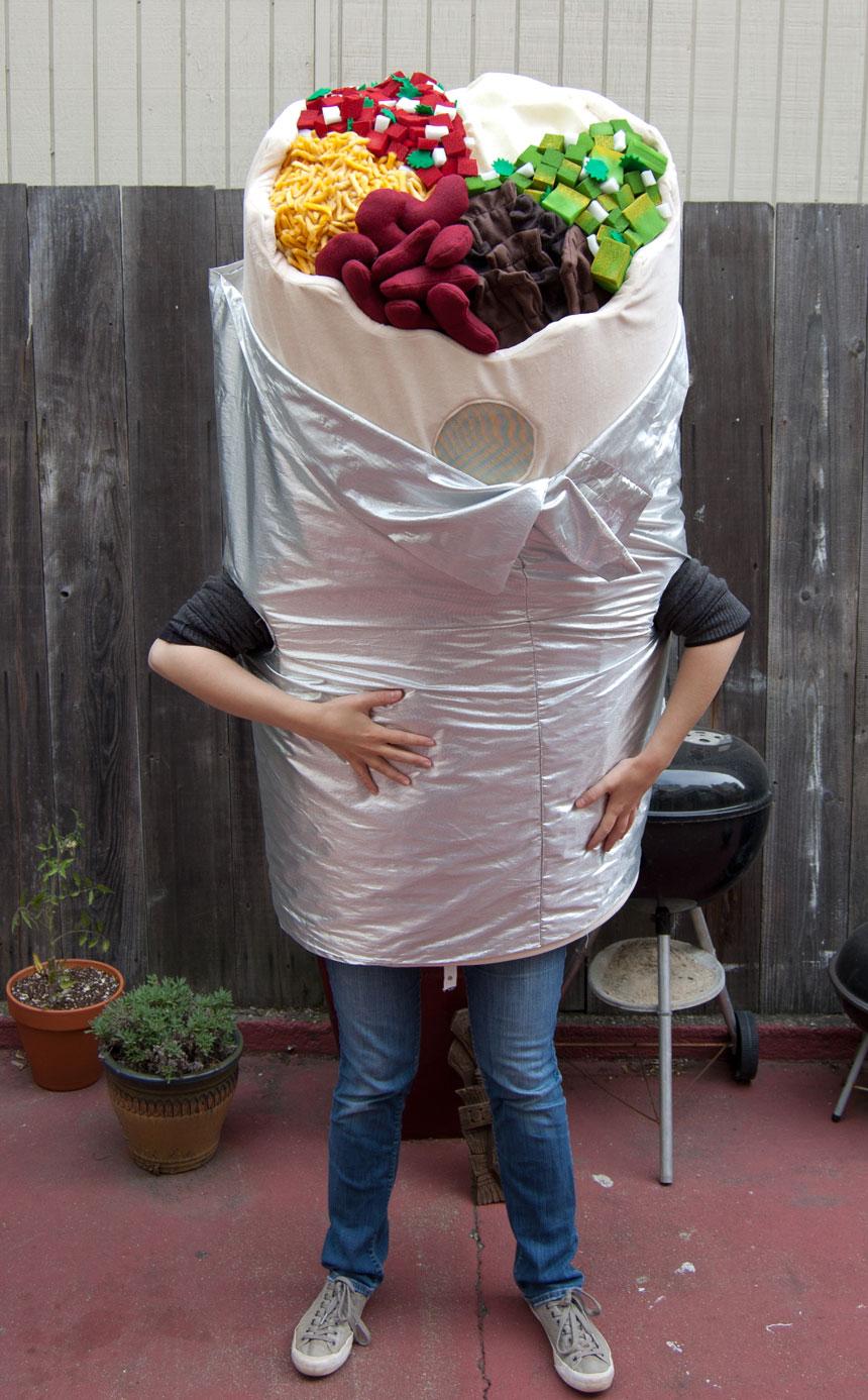 Bold Burrito costume