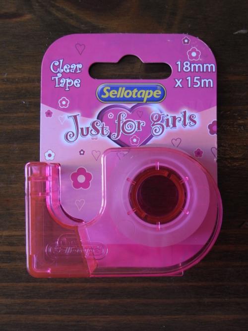 Tape for girls