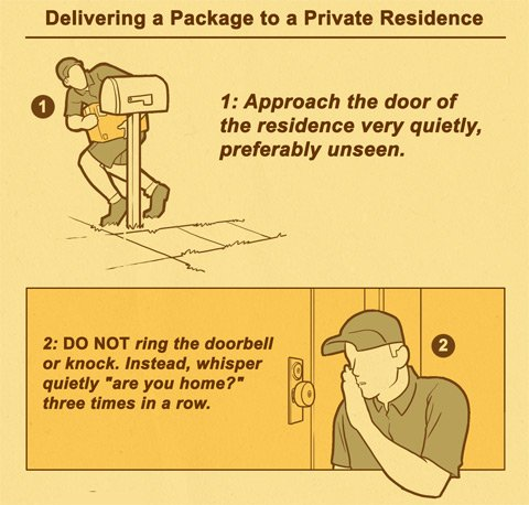 unhelfpful package delivery 1