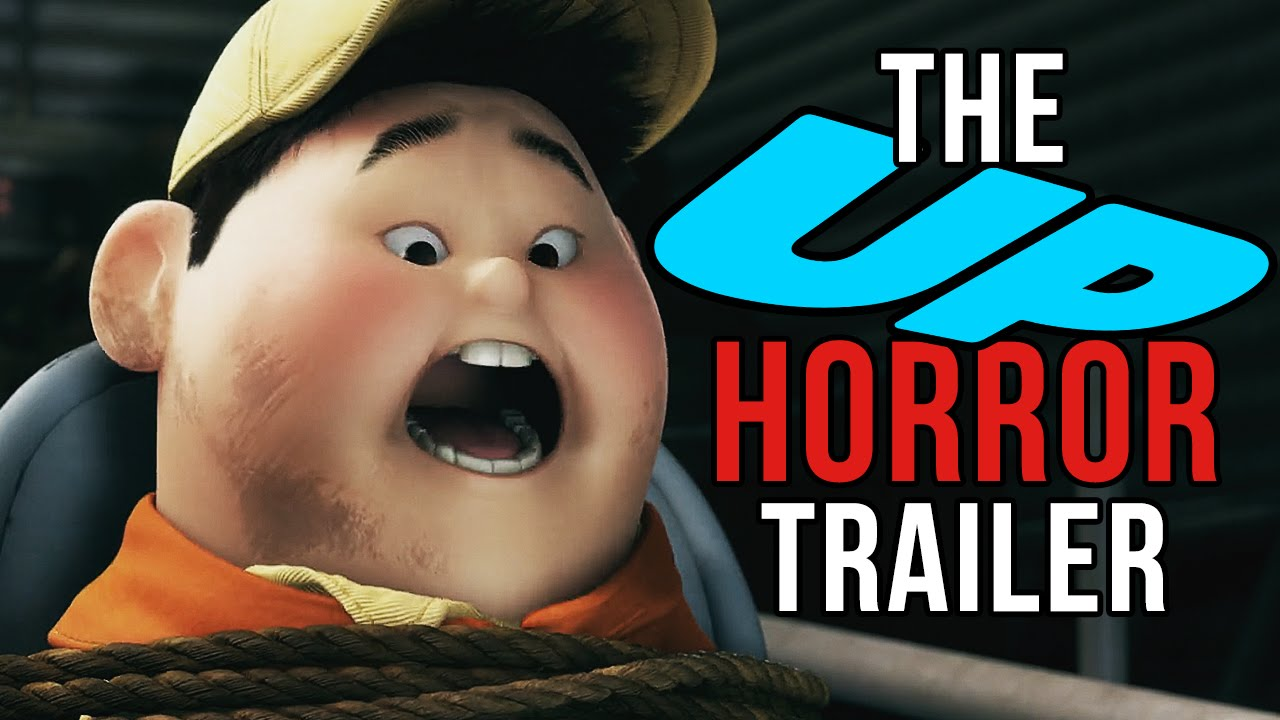Disney Pixar's Animated Film 'UP' Reimagined as a Horror Movie