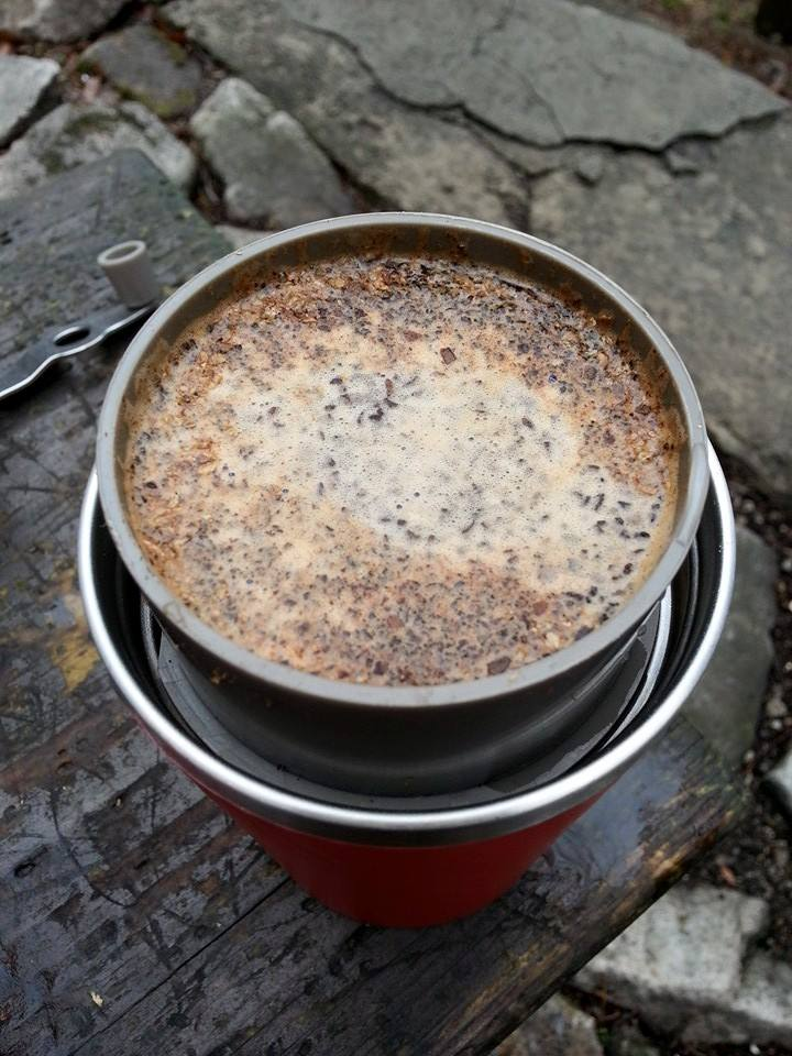 Cafflano Klassic with coffee