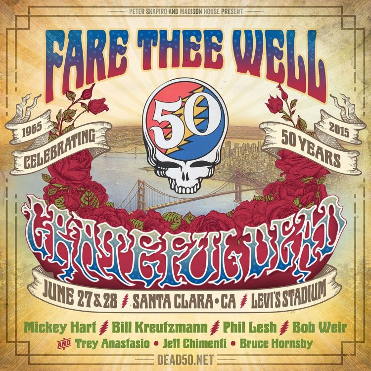 Grateful Dead California Farewell Shows