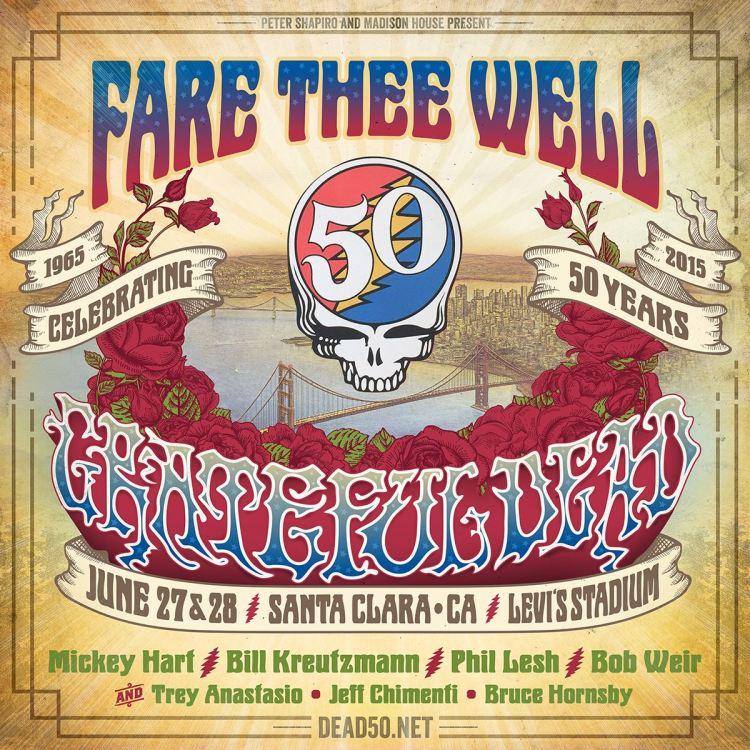 Grateful Dead California Farewell Shows
