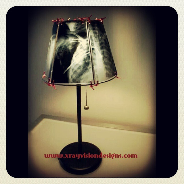 X-Ray Lamp by Spike Vain