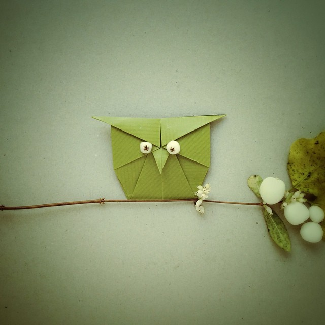 Origami Animal Sculptures by Wenche Lise Fossland