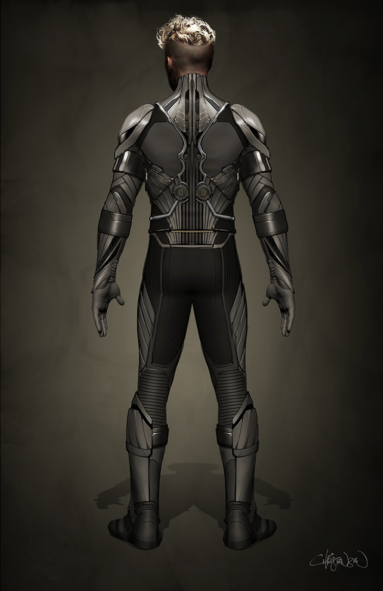 X-Men: Apocalypse Angel Concept Art