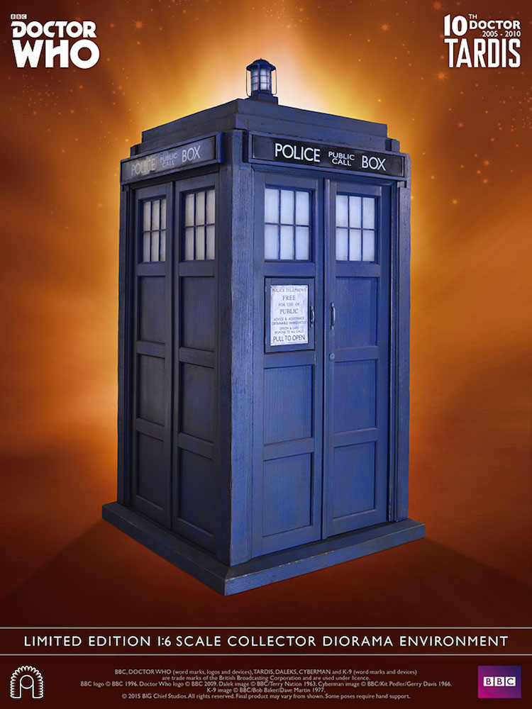10th Doctor Who TARDIS