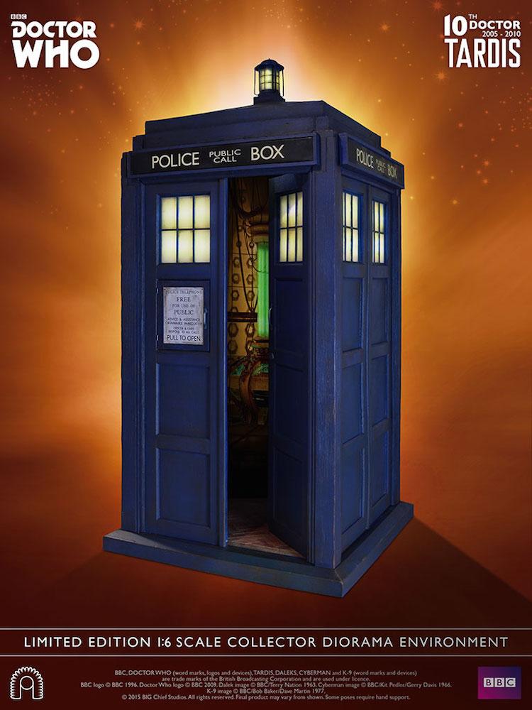 10th Doctor Who TARDIS