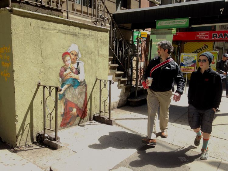 Renaissance Portraits Turned Into Street Art