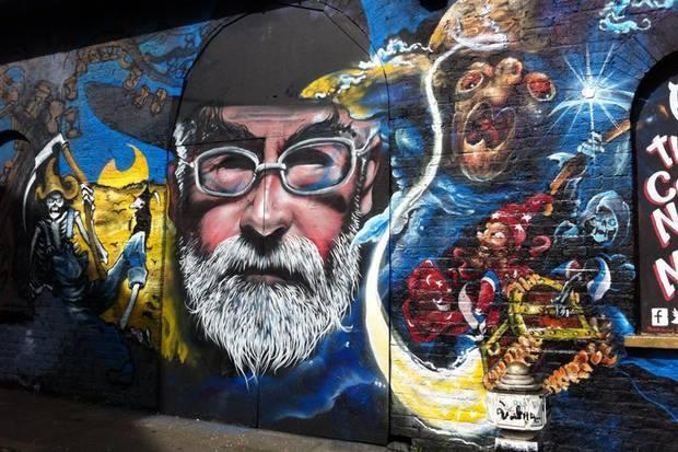 Terry Pratchett mural