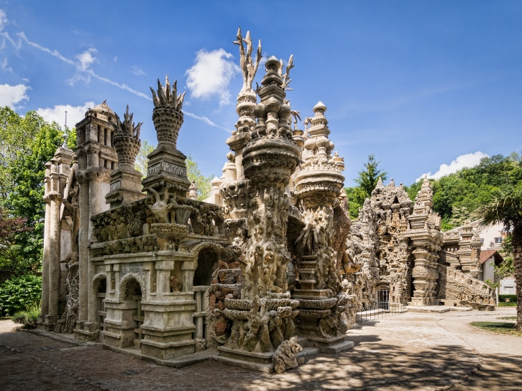 The Ideal Palace Sculpture by Ferdinand Cheval