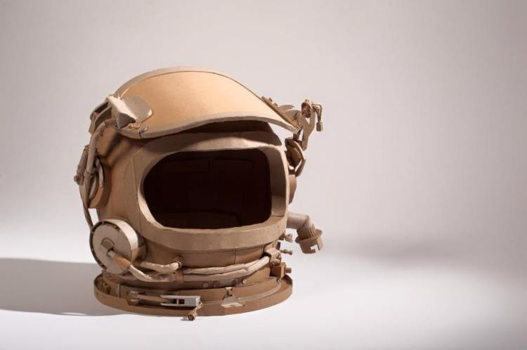 Detailed Cardboard Sculptures by Devin Drake