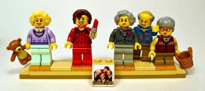 LEGO Golden Girls