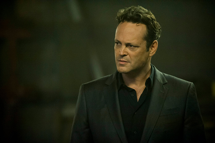 Vince Vaughn as Frank Semyon in True Detective