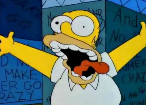 A Trap Music-Style Remix of Homer Simpson's 'Treehouse of Horror' Meltdown