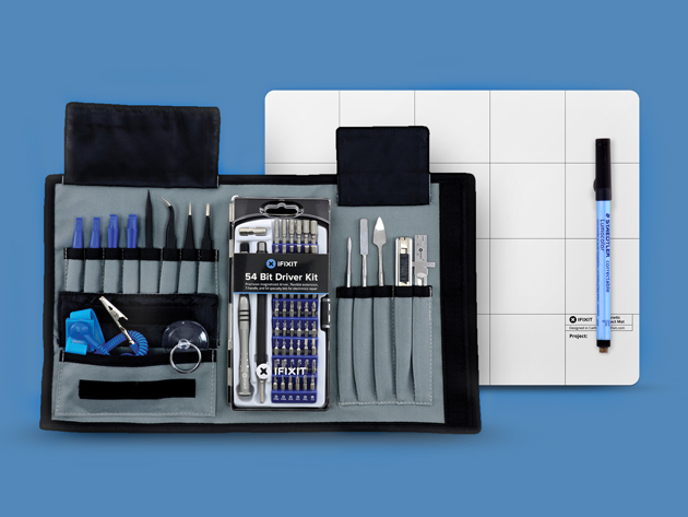 iFixit Pro Tech Toolkit, A 70-Piece Repair Kit for Fixing a Wide Variety of Gadgets