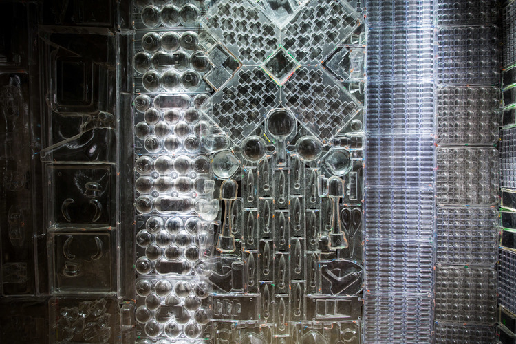 Blister Pact Plastic Installation by Ian Trask