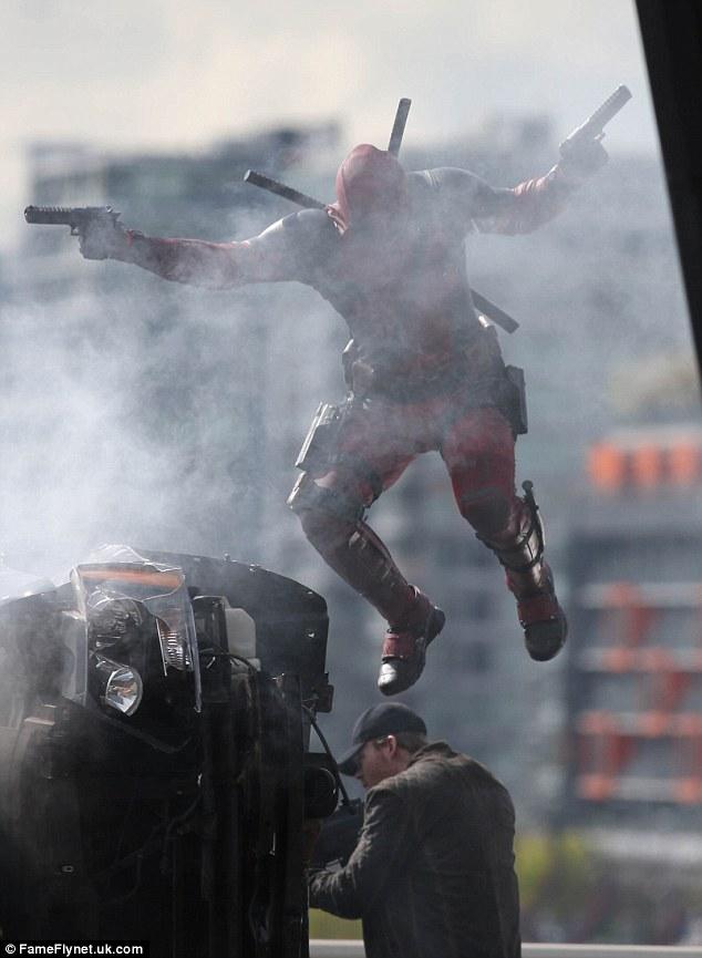 Deadpool Filming