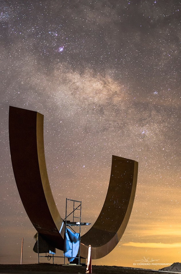 Genesis Sculpture by Otto Rigen at Spaceport America