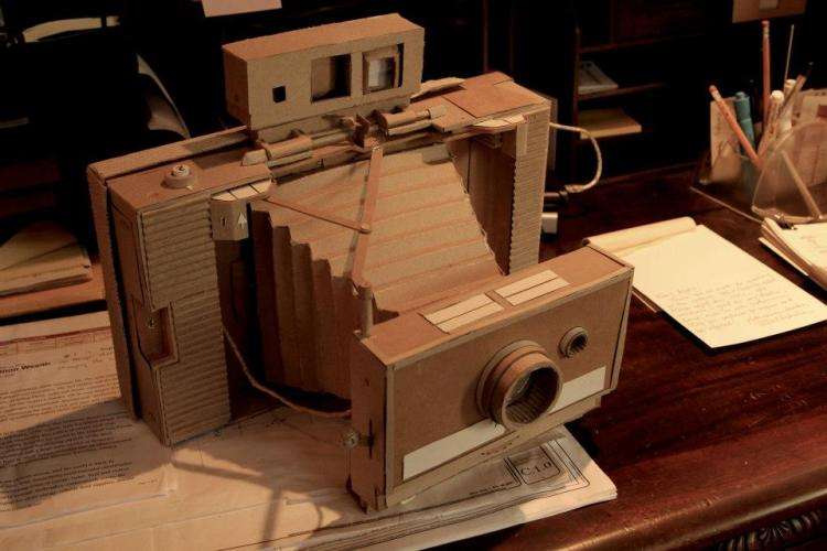 Detailed Cardboard Sculptures by Devin Drake