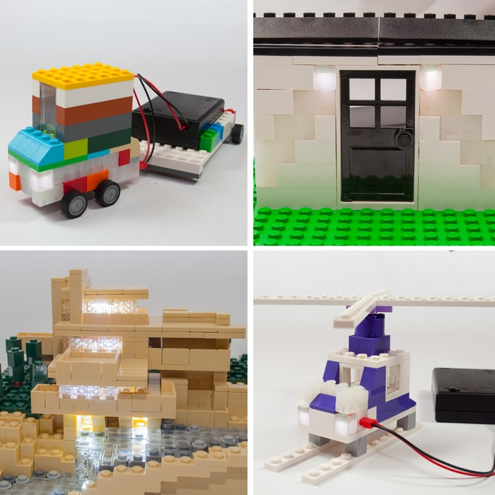 Build Upons, Illuminating Building Bricks That Bring Light to LEGO Creations