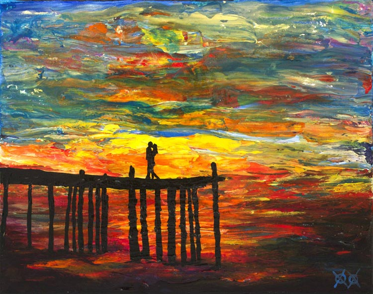 Colorful Paintings by Blind Painter John Bramblitt