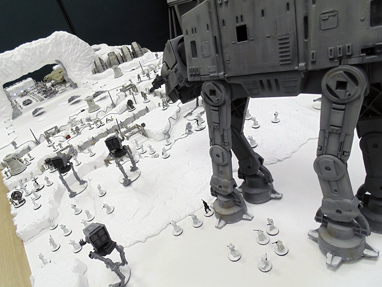 Star Wars Battle of Hoth Gaming Table