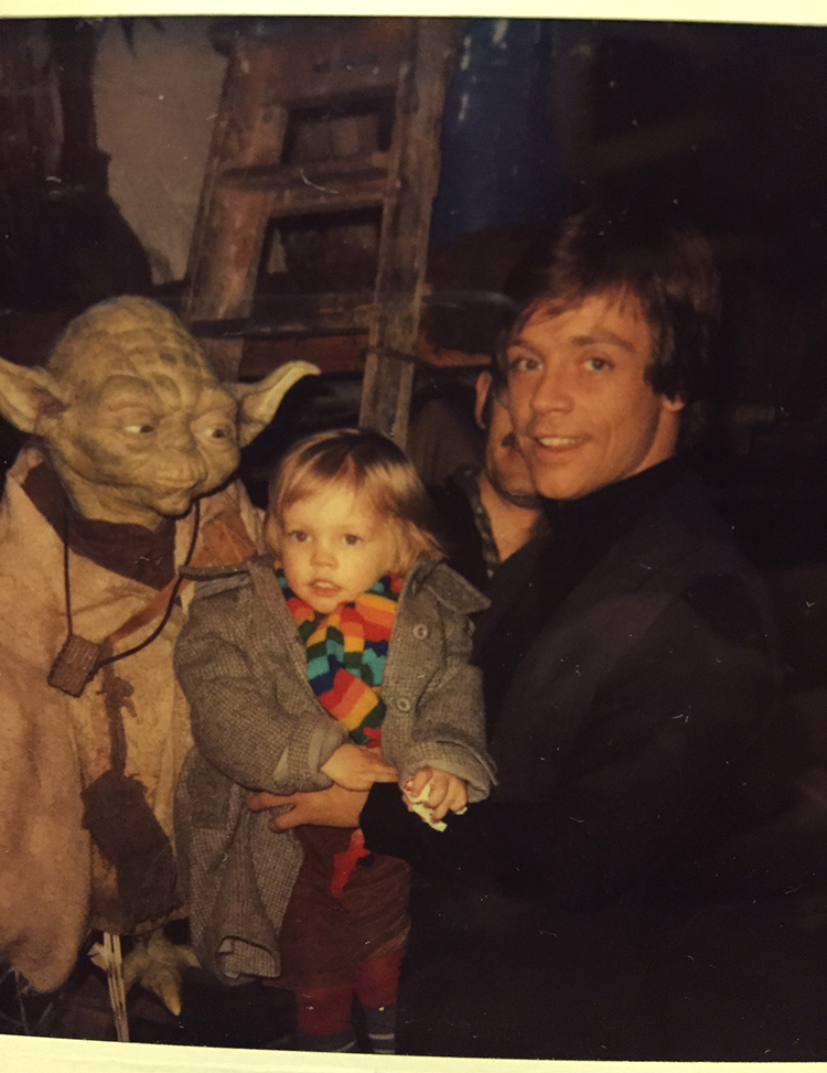 Mark Hamill Return of the Jedi Photo Album