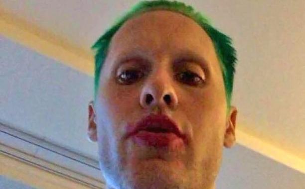 Jared Leto Short Green Hair