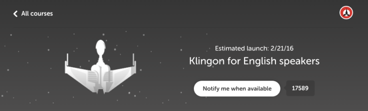 Klingon for English Speakers
