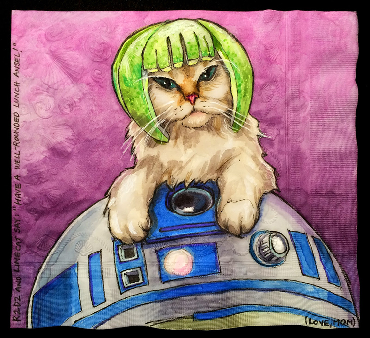 Limecat and R2-D2