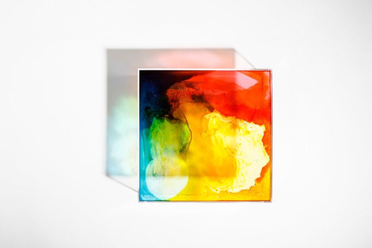 Melted Gummy Bear Light Boxes Stained Glass