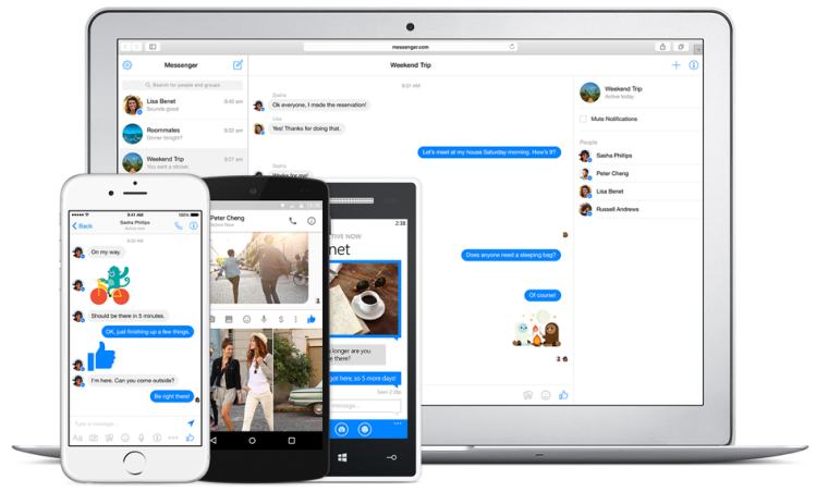Messenger for Browsers