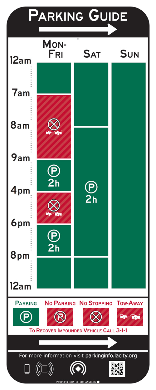 Los Angeles Parking Sign Redesign