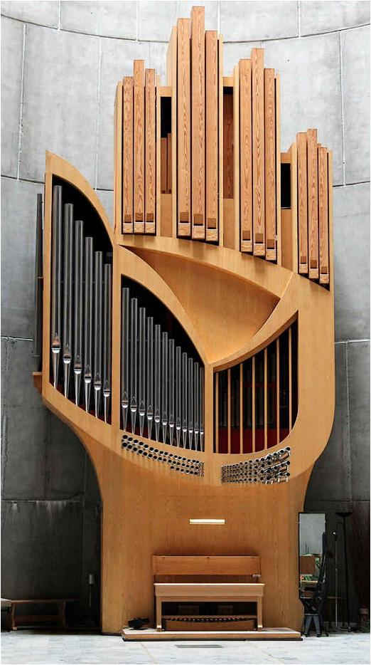Hand Church Organ in France