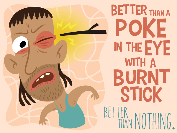 Colorful Illustrations That Explain the Meanings of Common Australian Idioms