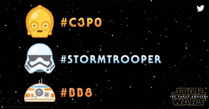 Star Wars Emoji on Twitter