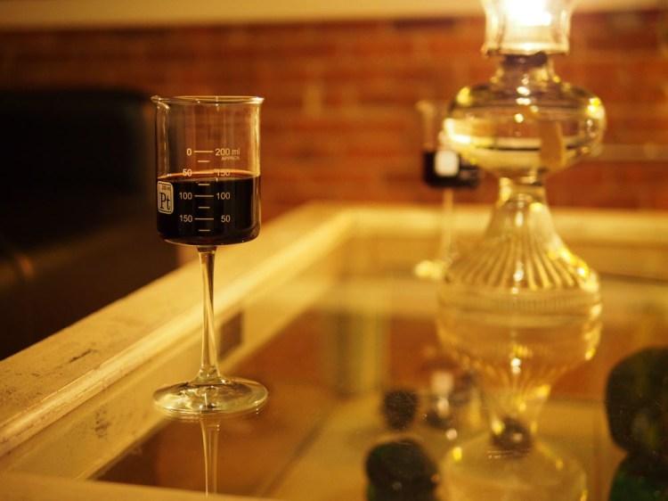 Single Beaker Glass
