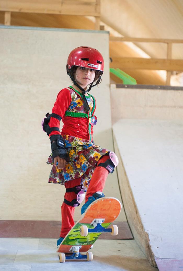 Skate Girls of Kabul by Jessica Fulford-Dobson