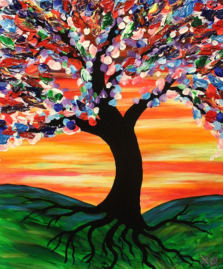 Colorful Paintings by Blind Painter John Bramblitt