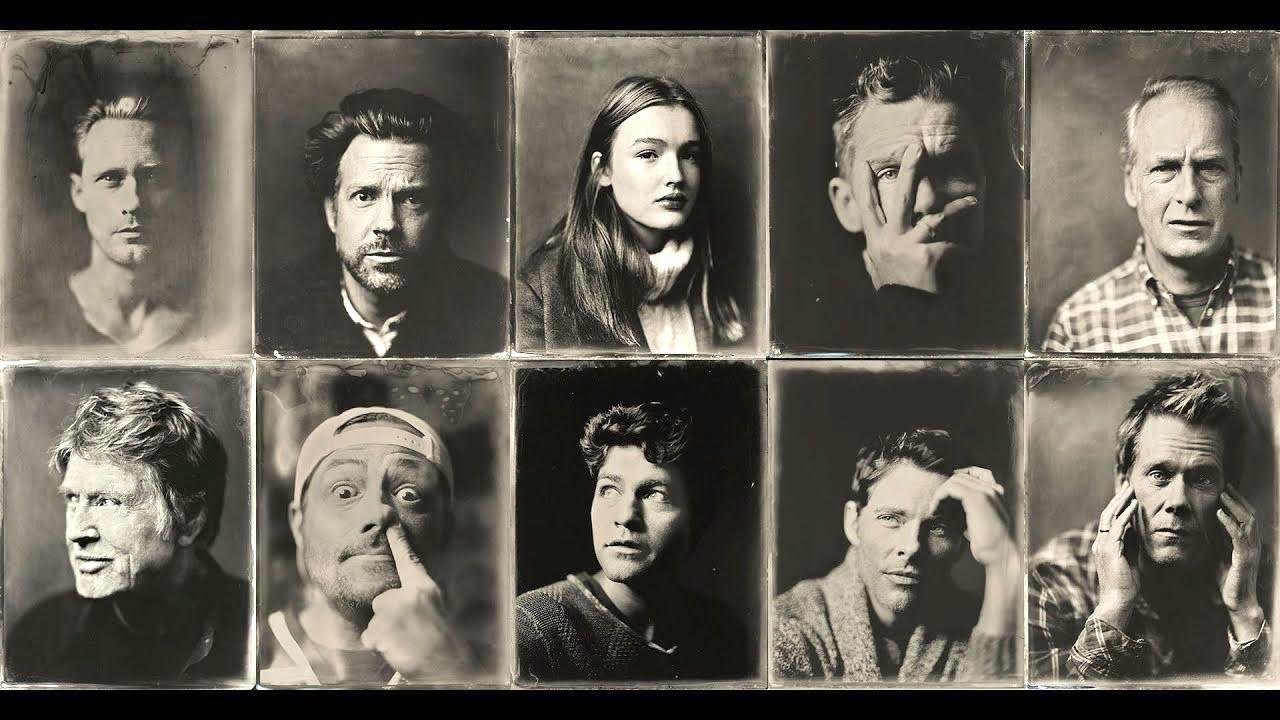 Photographer Creates Tintype Portraits of Celebrities at the Sundance Film Festival