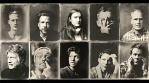 Tintype Portraits of Celebrities