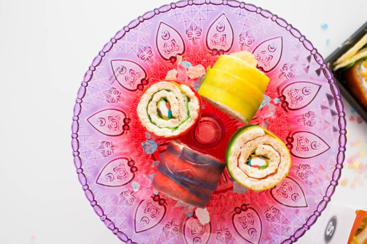 candy maki on plate