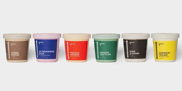 Color Collection ice creams