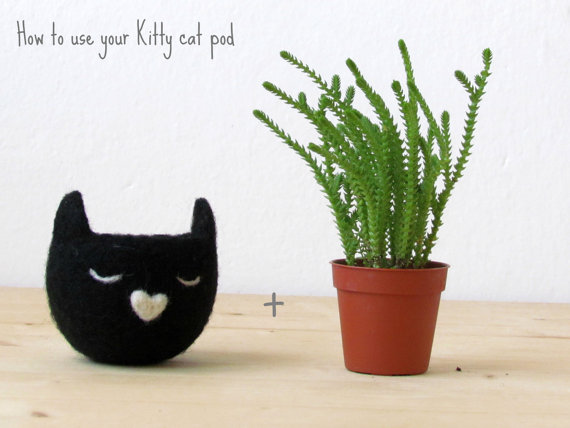 How to use felt planter
