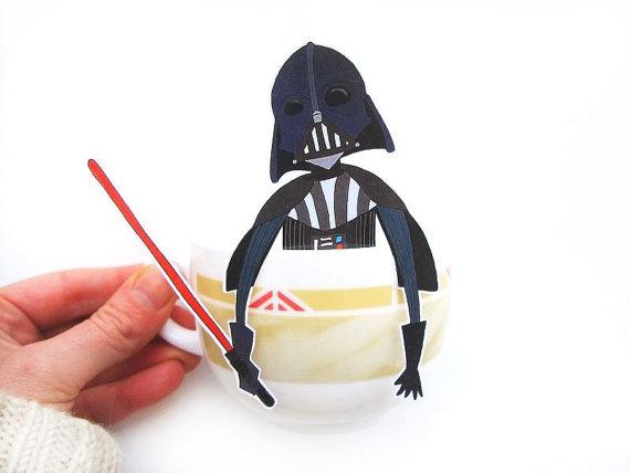 Darth Vader tea hanger