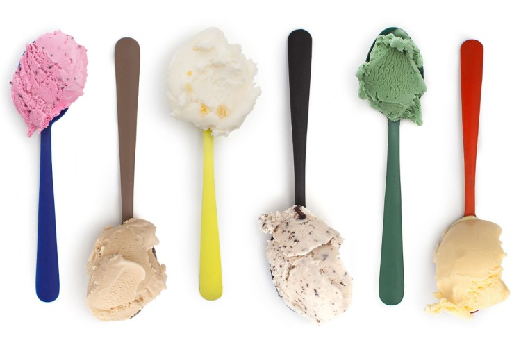 Color Collection ice cream spoons